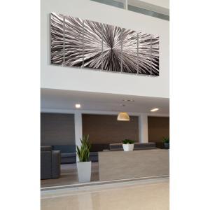 Radiant Velocity アートパネル インテリアアート (モダンアート、壁掛けアート、メタルアート)|modernfactory777|06