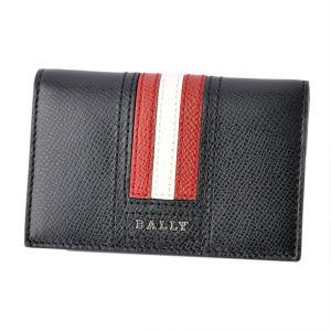 ■商品名 バリー BALLY TYKE.LT 10 6218025 バリーストライプ パスケース付 ...