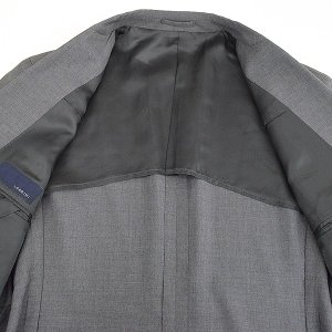LARDINI ラルディーニ 17SS ウールピンヘッド3Bセットアップスーツ メンズ グレー 52|modescape-ys|05