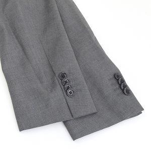 LARDINI ラルディーニ 17SS ウールピンヘッド3Bセットアップスーツ メンズ グレー 52|modescape-ys|07