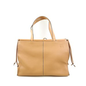 LOEWE ロエベ 19AWクッショントートラージバッグ Cushion Large leather tote ブラウン  その他服飾|modescape-ys