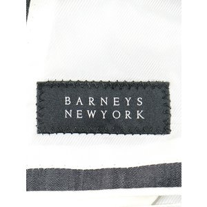 BARNEYS NEW YORK バーニーズ ニューヨーク Ermenegildo Zegna生地 ウールセットアップスーツ グレー 48 メンズ|modescape-ys|05