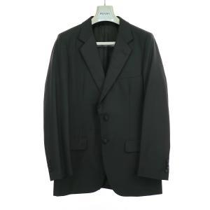 PRADA プラダ タキシードセットアップスーツ ブラック 50 メンズ|modescape-ys