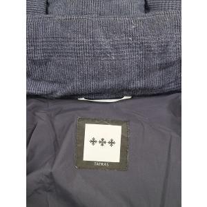 TATRAS タトラス 13AW LILIANO フーデッドダウンジャケット ネイビー 2 メンズ|modescape-ys|03