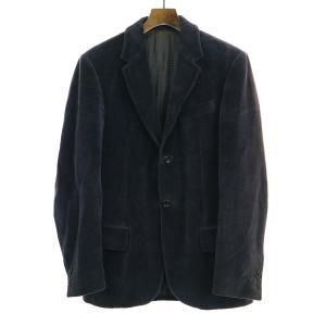 D&G ドルチェ&ガッバーナ ベロアセットアップ スーツ ダークネイビー 46 メンズ|modescape-ys