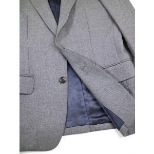 JOHN LAWRENCE SULLIVAN ジョン ローレンス サリバン 2Bウールセットアップスーツ グレー 34 メンズ|modescape-ys|07