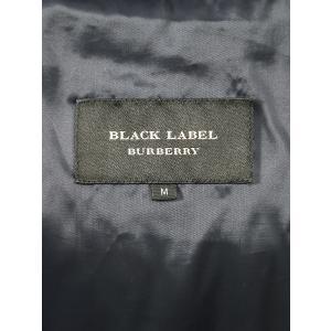 BURBERRY BLACK LABEL バーバリー ブラックレーベル ホワイトグースダウンジャケット ネイビー M メンズ|modescape-ys|03