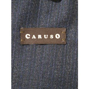 CARUSO カルーゾ 19AW butterfly SUPERFINE 130'S ウールストライプセットアップスーツ ネイビー 50 メンズ|modescape-ys|05