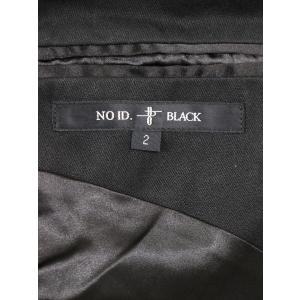NO ID ノーアイディー 18AW TRストレッチドレープショールコート ブラック 2 メンズ modescape-ys 03
