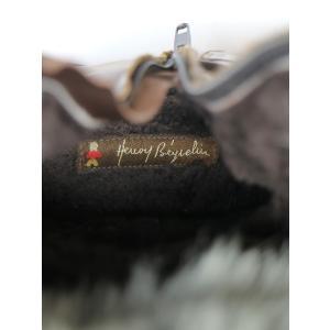HENRY BEGUELIN エンリーベグリン ファーライニングサイドジップレザーブーツ ブラウン 36(23cm程度) レディース|modescape-ys|07