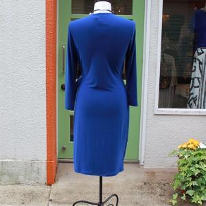 ラップドレス Anne Klein Sサイズ 無地 ブルー ジャージワンピース 大人 インポート レディース modisteclub 03