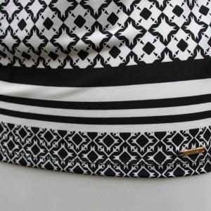 Calvin Klein 襟元プリーツ 幾何学柄 タンクトップ ジャケットイン スーツイン レディース インポート modisteclub 06