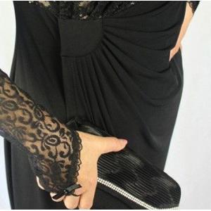 パーティードレス 結婚式 フレンチ袖あり 膝丈レースワンピース |modisteclub|06