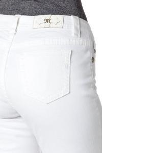 ミスミ― ボーイフレンド 25インチ ホワイトジーンズ MISS ME 刺繍 アンクル丈 カプリ 白 デニム 直輸入|modisteclub|05