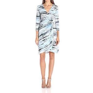 ラップドレス Calvin Klein プリント ジャージワンピース 大人 インポート レディース|modisteclub