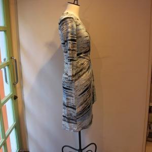 ラップドレス Calvin Klein プリント ジャージワンピース 大人 インポート レディース|modisteclub|03