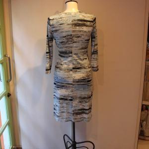 ラップドレス Calvin Klein プリント ジャージワンピース 大人 インポート レディース|modisteclub|04