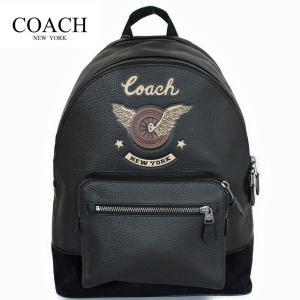 ■商品名 コーチ メンズ バッグ リュック バックパック イージーライダーモチーフCOACH WES...