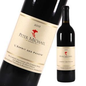 赤 ワイン ピーター・マイケル レスプリ・デ・パヴォ 2013 (アメリカ カリフォルニア)|moesfinewines