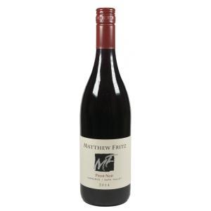 赤 ワイン マシュー・フリッツ ピノノワール ノースコースト (アメリカ カリフォルニア)|moesfinewines