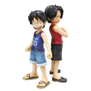 ONE PIECE フィギュア CB-EX ルフィ&エース 兄弟の絆 P.O.P 未開封美品