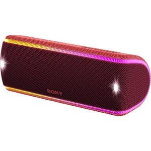 ソニー ワイヤレスポータブルスピーカー SRS-XB31 : 防水・防塵・防錆/Bluetooth/...