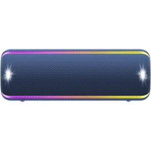 ソニー ワイヤレスポータブルスピーカー SRS-XB32 : 防水 / 防塵 / 防錆 / Blue...