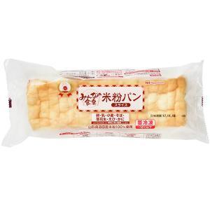 酒田産米粉を100%使用した、小麦グルテンを含まないパンです。  これまでの米粉パンにない、ふんわり...