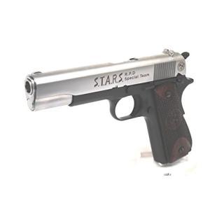 マルイ・M1911A1 ガバメント対応 メタルスライド一式&ウッドグリップパネルセット STARS ...