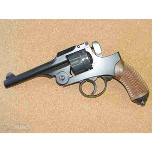 HWS・二十六年式拳銃・ブルーブラック仕上げ・木製グリップ&ランヤード付属 HWモデルガン限定品