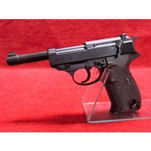 マルゼン・ワルサーP38(ac41) ブローバックガスガン ブラック