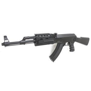 CYMA電動ガン AK47 タクティカル アドバンス バッテリー&チャージャー付きフルセット