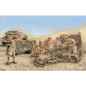 サイバーホビー 1/35スケール 【CH6675】WW.II イギリス軍 25ポンド砲 Mk.II w/リンバー