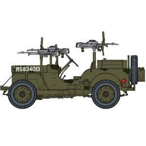 サイバーホビー 1/35スケール  【CH6725】 WW.II イギリス軍 SAS 4x4 小型軍用車 ヨーロッパ戦線 1944+第2SAS連隊歩兵フィギュア4体セット