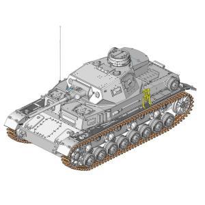 サイバーホビー 1/35スケール  【CH6736】 WW.II ドイツ軍IV号戦車D型 5cmL/60砲搭載型