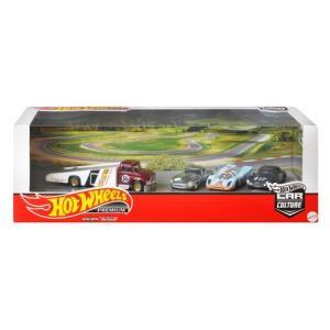 ホットウィール プレミアム コレクターセット Iconic Race Cars [GMH39-986...