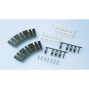 ●TCS電動ターンテーブルの線数を増やすためのブロック ●取り付けるパーツによりレールブロックまたは...