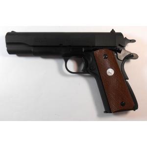マルシン モデルガン完成品 コルト・ガバメント M1911A1 HW|mokeiyabigman