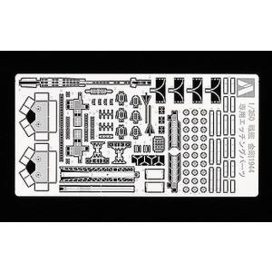 ●1/350 アイアンクラッドシリーズ戦艦 金剛をディテールアップできるエッチングです。 ●カタパル...