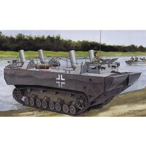 ドラゴンモデル 1/35スケール 【6625】 パンツァーフェリー装甲水陸両用牽引車(LWS)プロトタイプNo.1(スマートキット)