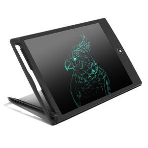 電子メモ パッド 電子メモ帳 8.5インチ 電池長持ち ペン 付き 110g 厚さ0.5cm ブラック HB|mokku-shop