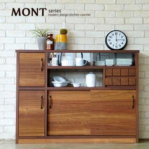 レンジ台 キッチン収納 モント120スリム|moku-moku