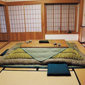 高級こたつ布団 敷ふとんセット 青浅黄 80〜90cm用 moku-moku
