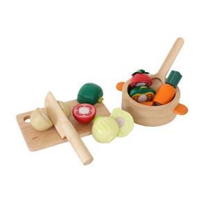 チーズくんのおいしいスープ 野菜 おままごと 木のおもちゃ 絵本 2歳 3歳 誕生日 プレゼント|mokuguru