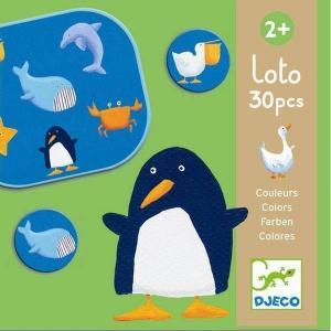 アニマルロト DJECO ジェコ 絵合わせ 知育玩具 2歳 3歳 誕生日 プレゼント|mokuguru