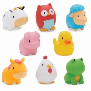 水でっぽう8コセット(ファーム) マンチキン お風呂 水遊び おもちゃ|mokuguru