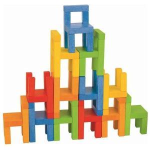 バランスゲーム チェアーズ 3歳 4歳 5歳 誕生日 プレゼント 積み木|mokuguru