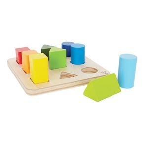 カラーアンドシェイプソーター 形合わせ ペグさし 積木 知育玩具 1歳半 2歳 誕生日 プレゼント|mokuguru