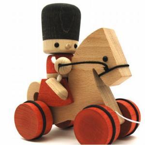 プルトーイ トビー&ボコ 馬 赤ちゃん おもちゃ 出産祝い 1歳 2歳 誕生日 プレゼント|mokuguru