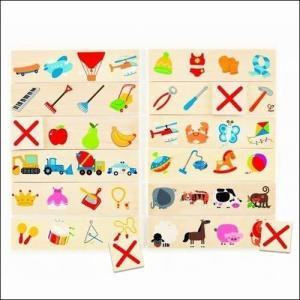 クロスアウト 知育玩具 間違い探し ゲーム 3歳 4歳 誕生日 プレゼント|mokuguru